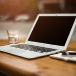 Laptop werkplek